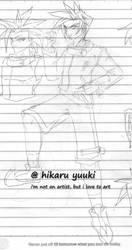 Kaido Yuuki Sketch by k13rayuuki