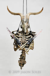 Baphomet sculpture by MrSoles