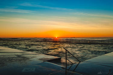 Towradgi Sunrise by RubySummit