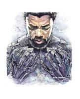 King Tchalla of Wakanda by KyleLegaspi