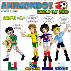 Mundial Sudafrica 2010 Grupo A by Dougieus