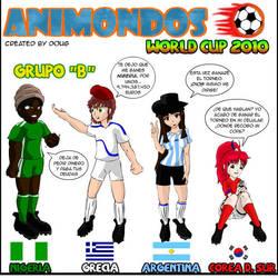 Animondos en el Mundial de Fut by Dougieus