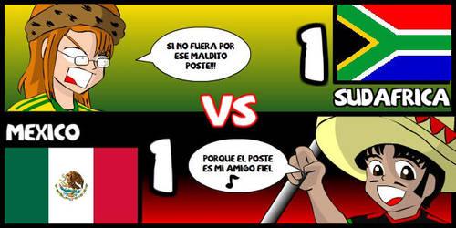 Sudafrica VS Mexico by Dougieus