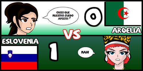 Argelia VS Eslovenia by Dougieus