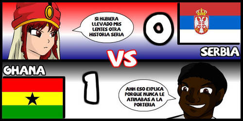Serbia VS Ghana by Dougieus