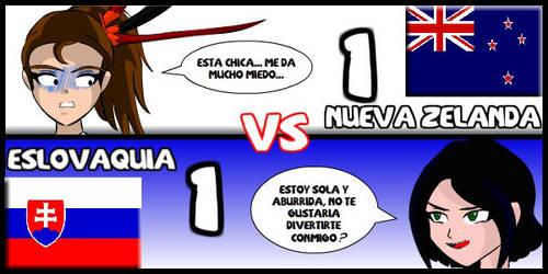 Nueva Zelanda VS Eslovaquia by Dougieus