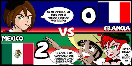 Francia VS Mexico by Dougieus