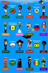 Chibi Countries in the World - Part 20 - Animondos by Dougieus