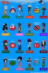 Chibi Countries in the World - Part 24 - Animondos by Dougieus