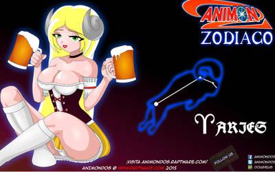 Animondos Zodiaco: Alemania de Aries by Dougieus