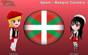 Chibi Basque Country, Spain - Animondos - by Dougieus