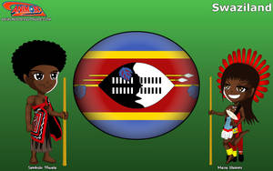 Chibi Swaziland - Animondos - by Dougieus