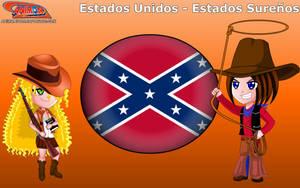 Chibi USA - Southern States - Animondos - by Dougieus