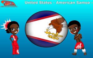 Chibi American Samoa - Animondos - by Dougieus