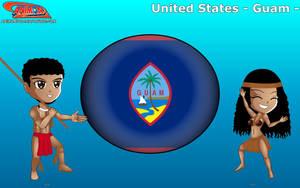 Chibi Guam - Animondos - by Dougieus