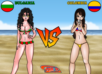 Bulgaria vs Colombia de Animondos by Dougieus