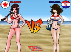 Canada vs Croacia de Animondos by Dougieus