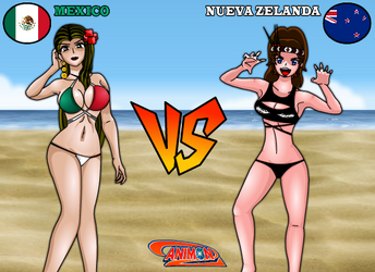 Mexico VS Nueva Zelanda de Animondos by Dougieus