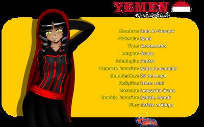 Perfil de Yemen de Animondos by Dougieus