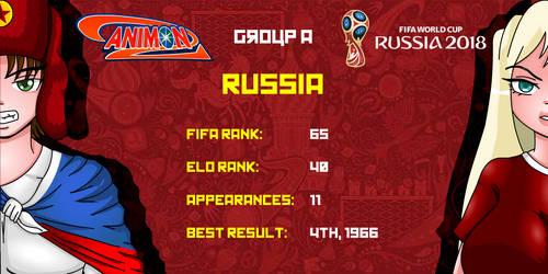 Russia - Animondos World Cup Russia 2018 by Dougieus