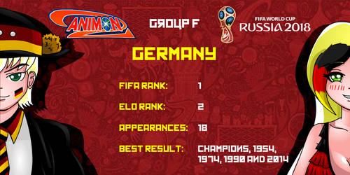 Germany - Animondos World Cup Russia 2018 by Dougieus