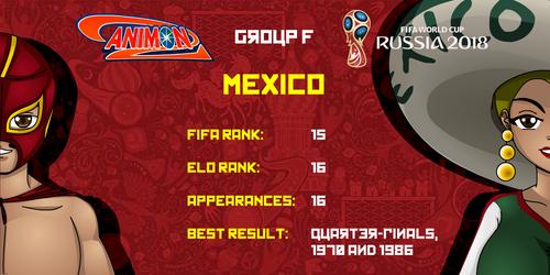 Mexico - Animondos World Cup Russia 2018 by Dougieus