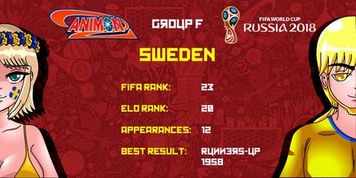Sweden - Animondos World Cup Russia 2018 by Dougieus