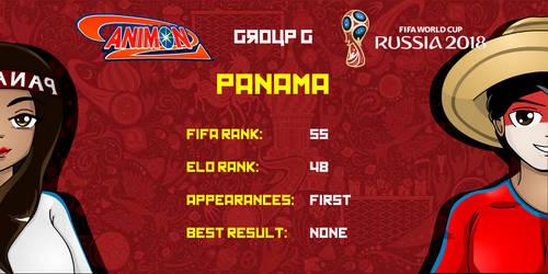 Panama - Animondos World Cup Russia 2018 by Dougieus