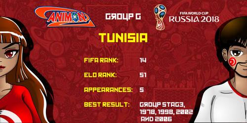 Tunisia - Animondos World Cup Russia 2018 by Dougieus