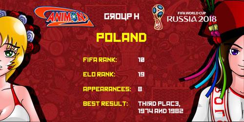 Poland - Animondos World Cup Russia 2018 by Dougieus