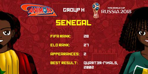 Senegal - Animondos World Cup Russia 2018 by Dougieus