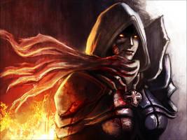 Demon Hunter by nechnechmo