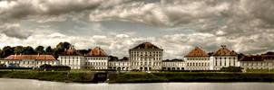 Castle Nymphenburg Panorama by konishkichen
