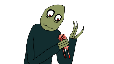 Salad Fingers by XSmile2004