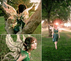 Weeping Willow Tree Fairy by Firefly-Path