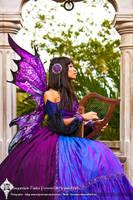 Art Nouveau Fairy by Firefly-Path