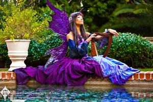 The Indigo Masquerade Fairy by Firefly-Path
