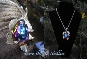 Aurora Borealia Necklace by Firefly-Path