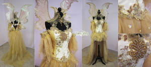 Sun Fairy Costume by Firefly-Path