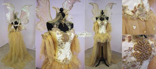 Sun Fairy Costume by Firefly-Path