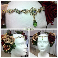 Art Nouveau Headdress by Firefly-Path