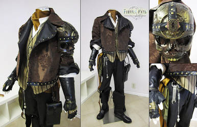 Gentleman Steampunk Pirate by Firefly-Path