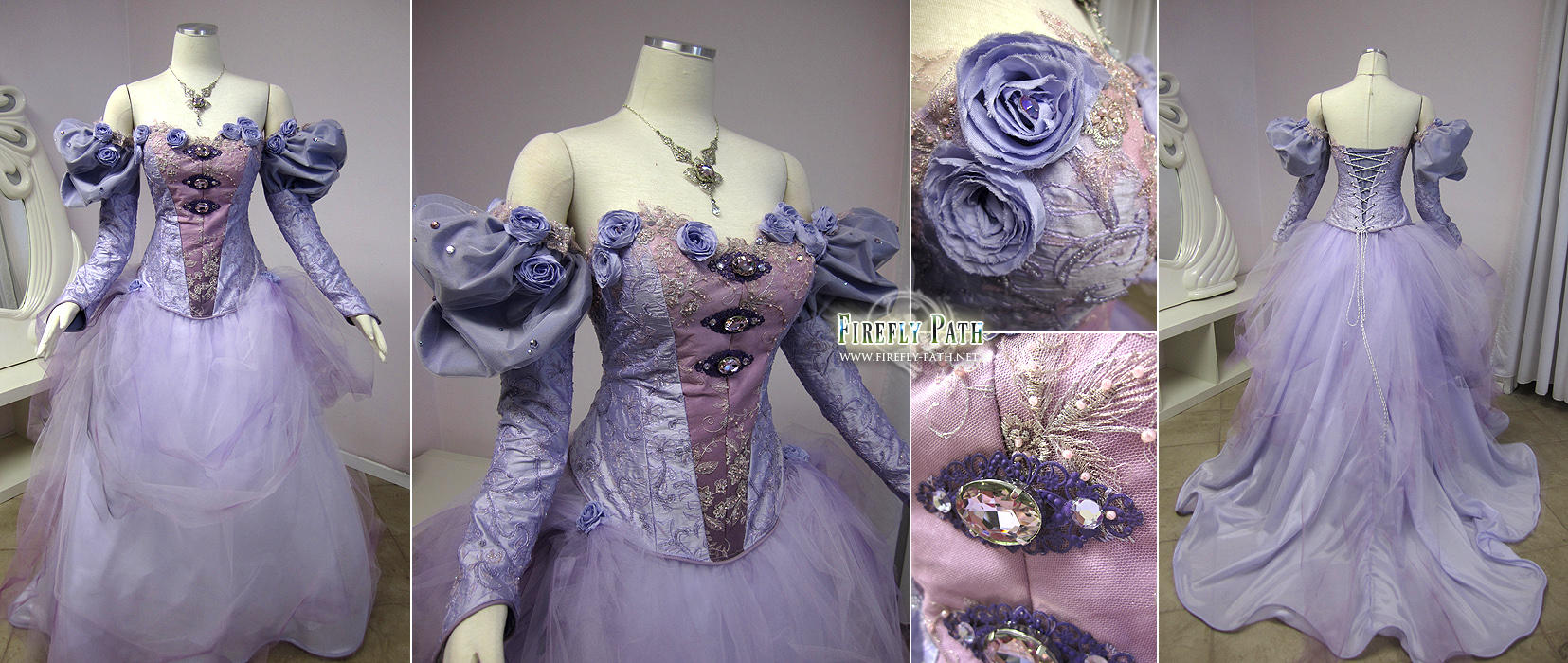 The Lady Amalthea Gown by Firefly-Path