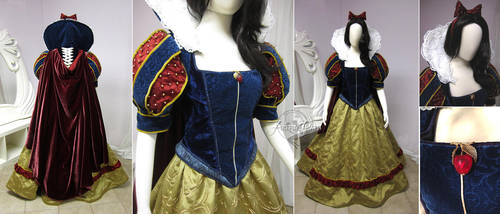 Snow White Dress by Firefly-Path