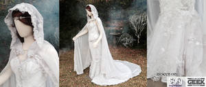 Elf Inspired Wedding Gown by Firefly-Path