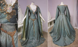 Galadriel Inspired Gown by Firefly-Path