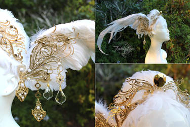 Swan Headdress by Firefly-Path