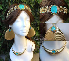Princess Jasmine Crown and Accessories by Firefly-Path