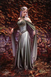 Elven Dress by Firefly-Path