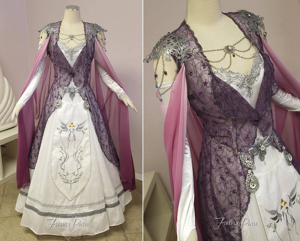 Princess Zelda Bridal Gown by Firefly-Path